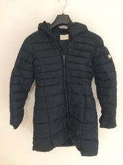 Zara Gefütterte Mantel Jacke Gr