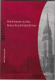 Hannoversche Geschichtsblätter band 66 NEU