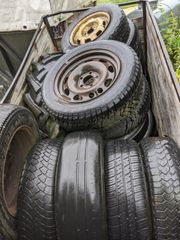 alte Reifen zu verschenken