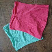 Schulterfreie 2 x Top Shirt