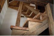 Treppe aus Altholz - Alldeco