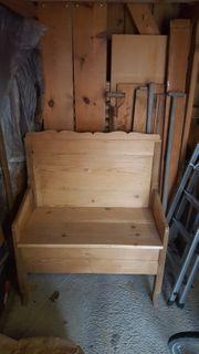alte Sitzbank