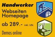 Handwerker Homepage Webseiten 40 Demos