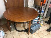 Tisch rund Holz