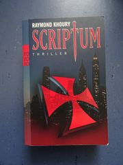 Inkl Versand Scriptum von Raymond