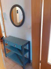 Ikea Regaltischchen Telefontischchen und runder