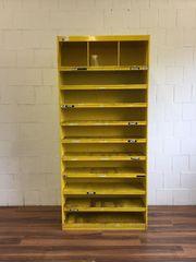 Werkzeugregal Metall gelb