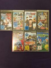 PSP Kamera 7 Spiele