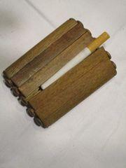 Zigaretten-Etui aus Holz