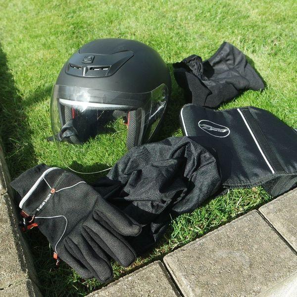 Fast Neu Jethelm Motorrad Helm