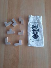 Holzpuzzle Der Zauberwürfel 7 Teile