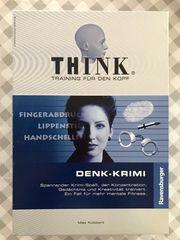 Think Denk-Krimi Gesellschaftsspiel für Hobbydetektive