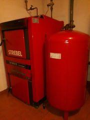 STREBEL ATMOS DC32GS Generator Holzofen