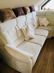Helle Eckgarnitur Couch Sofa