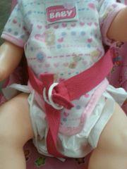 Baby puppe mit Set