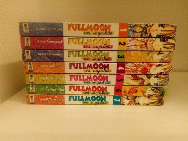 Manga Fullmoon 1-7