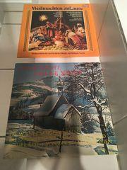 Schallplatten Weihnachtslieder auf 2 LPs