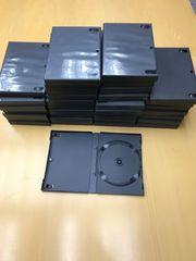 35 leere DVD-Hüllen in schwarz