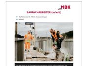 Baufacharbeiter m w d