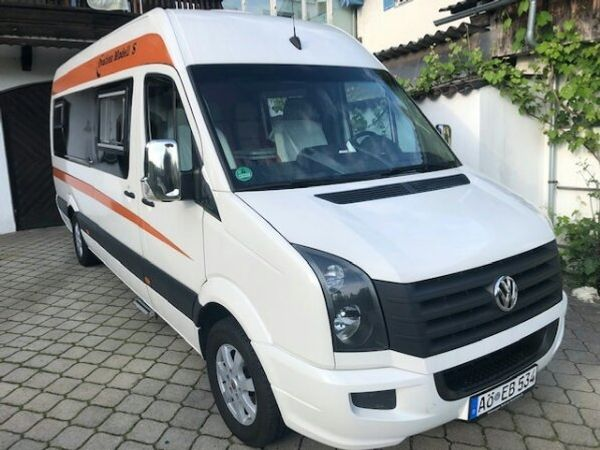 VW Crafter Wohnmobil 1 A