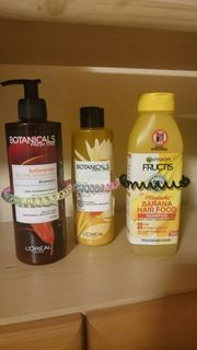 botanicals banana hairfood shampoo