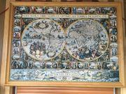 Puzzle Weltkarte - 10000 Teile Echtholz
