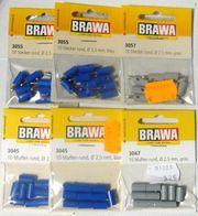 BRAWA 60 St Stecker Muffen