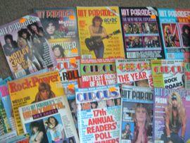 Fanartikel - Heavy Metal Hardrock Magazine Zeitschriften