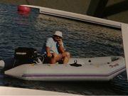 Schlauchboot- ohne Motor