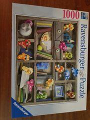 Puzzle Gelini Bücherregal 1000 Teile