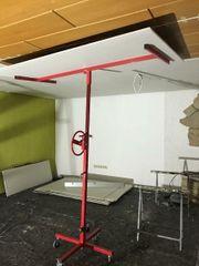 Plattenheber für Deckenmontage