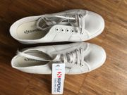 Neue Superga Classic Damen-Sneakers Seashell
