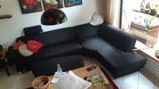 Ecksitzcouch mit Beistellgarnitur 3m x