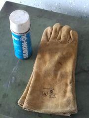 Schweisserhandschuhe Trennspray