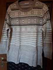 Winter-Pullover Gr 48 50 Norwegermuster