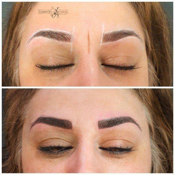 Permanent Make up Puderschattierung Modelle