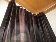 Vorhang braun 3 Vorhänge
