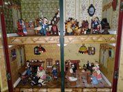 Nostalgisch lebendiges Puppenhaus Absolute Rarität