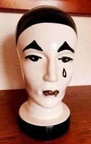 Vintage Pierrot Deko Kopf - quasi