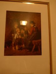 Wandbild Kinderszene von Franz v