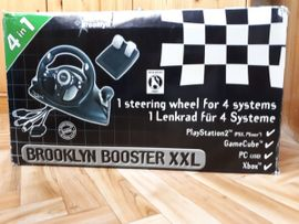 PlayStation Sonstiges - Lenkrad Brooklyn Booster XXL Universal
