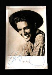Original-Autogramm Elvis Presley