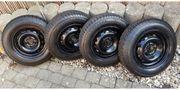Stahlfelgen mit Reifen MS