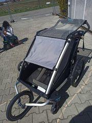 Thule Fahrrad Anhänger Sport mit