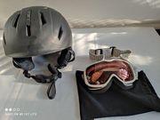 Ski-Schihelm S51-55cm Scott Brille