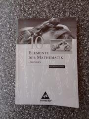 Elemente der Mathematik 10 Lösungen -