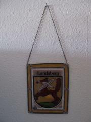 Fensterbild Wappen von Landsberg Ostpr