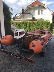 PISCHL BOLERO Festrumpfschlauchboot mit Motor
