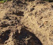 Erdaushub Erde Mutterboden Auffüllmaterial