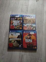 PS4 Spiele Neu und OVP